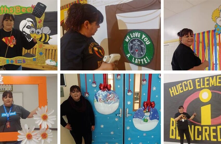 Hueco Elementary volunteer wins 2020 Heroes for Children Award