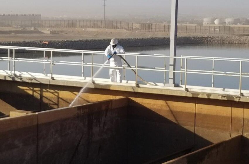 El Paso Water employees prepare plants for 2021 river season