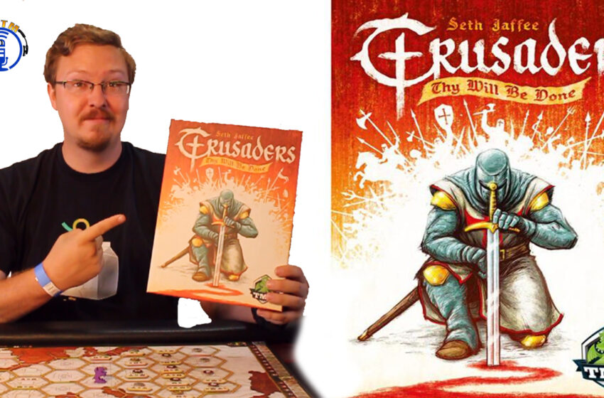 VLog: How to play Crusaders: Thy Will Be Done by Tasty Minstrel Games