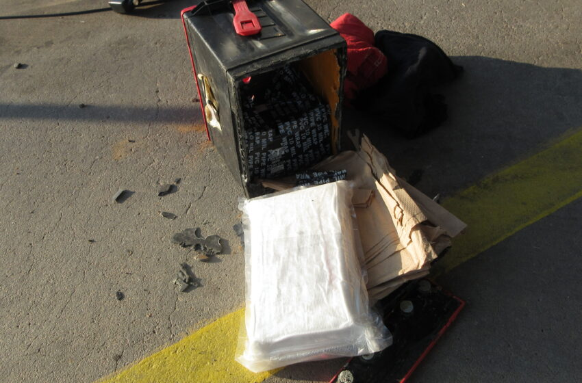 Border Patrol agents snag $80k of cocaine at Alamogordo check point