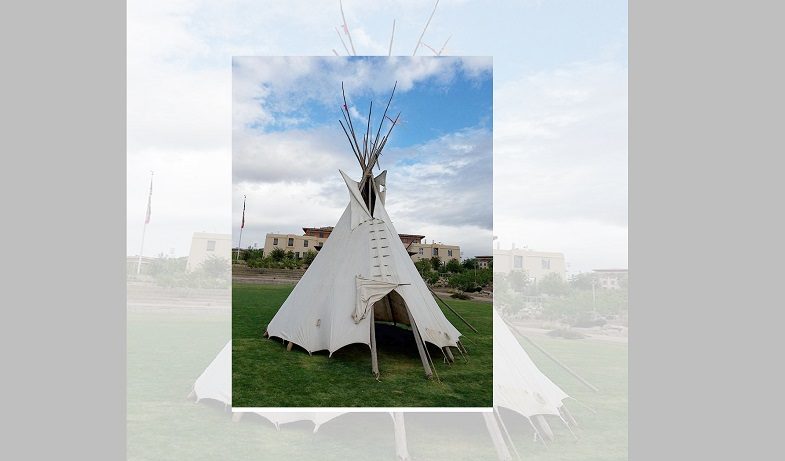 UTEP's College of Liberal Arts is among the sponsors of the 2nd Annual Indigenous People's Celebration: U.S.-Mexico Border, an event that consists of 10 presentations from noon to 1:30 p.m. weekdays through Oct. 23, 2020. In 2019, the UTEP student group, A.R.I.S.E. (Academic Revival of Indigenous Studies and Education) acknowledged Indigenous Peoples Day by setting up a teepee on Centennial Plaza. | Photo courtesy UTEP