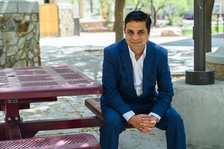 Jagdish Khubchandani, professor of public health sciences at New Mexico State University, served as the lead author of a study that found that Americans' diets are becoming unhealthier as a result of stresses related to the coronavirus pandemic | NMSU photo by Josh Bachman