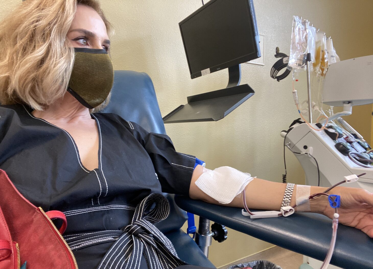 """If it can help all of us beat this thing sooner rather than later, I believe we absolutely need to do it,"" Foster said. ""If you've gone through COVID-19, it's a responsibility to give plasma. I think it could be important to all of us."""