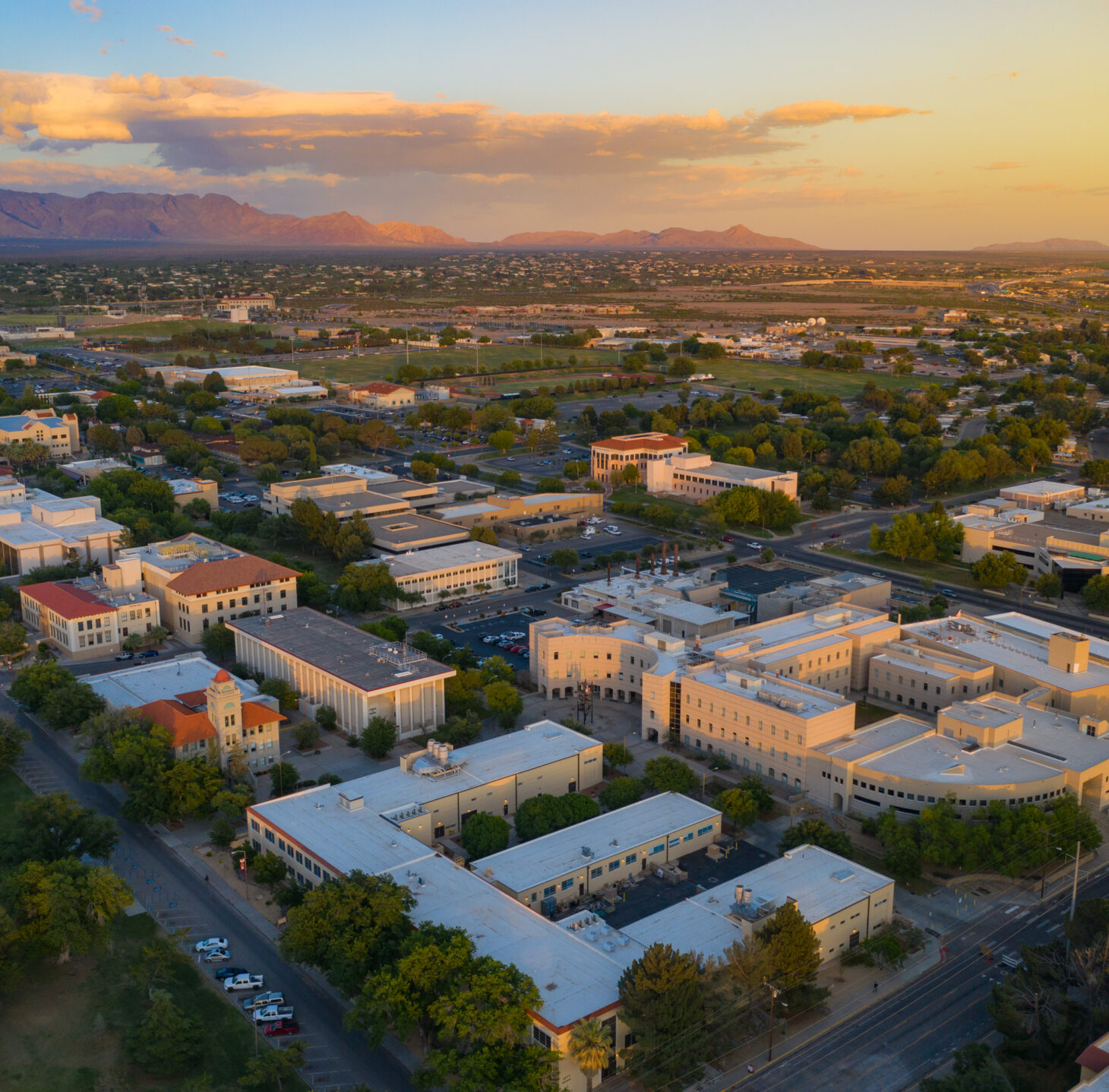 New Mexico State University and Los Alamos National Laboratory have signed a new institutional agreement to support joint appointments. | NMSU photo by Derek Flodmand