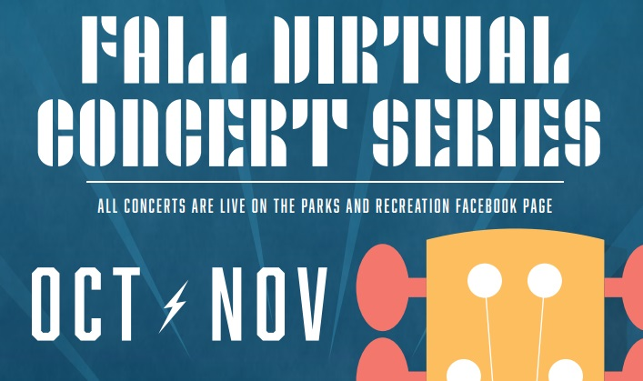 Parks and Rec Department continues Virtual Concert Series