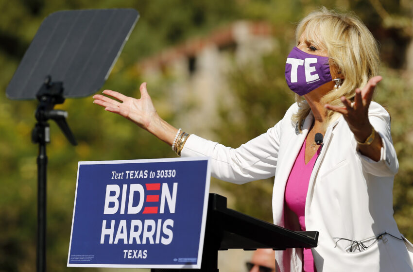 Gallery: Dr. Jill Biden visits El Paso on 1st day of Early Voting
