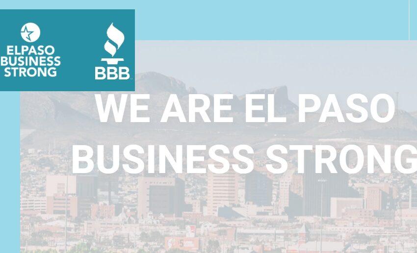 Better Business Bureau Paso del Norte re-launches EP Business Strong, Buy El Paso websites