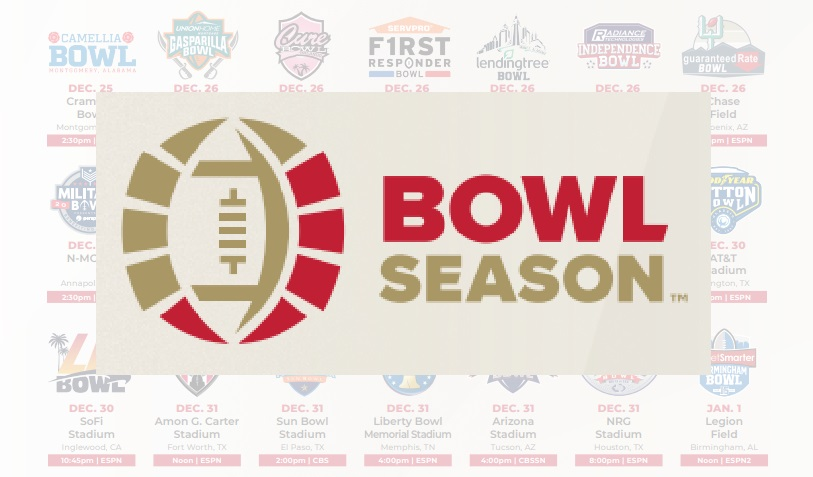 2020-21 College Bowl Season schedule announced