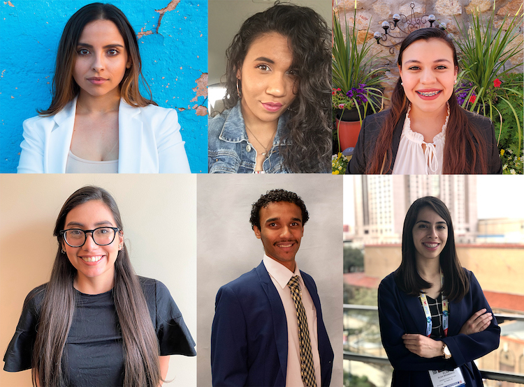 Six undergraduate UTEP Engineering Students awarded scholarships