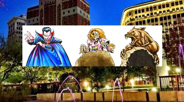 DMD organizes Downtown El Paso Monster Hunt