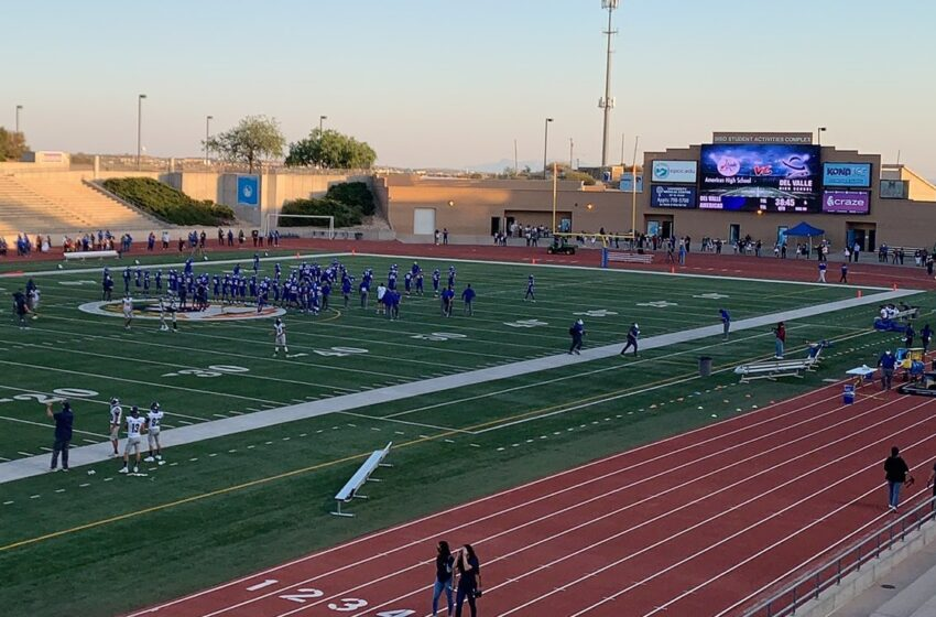 Late turnover dooms Del Valle as Americas wins 28-20