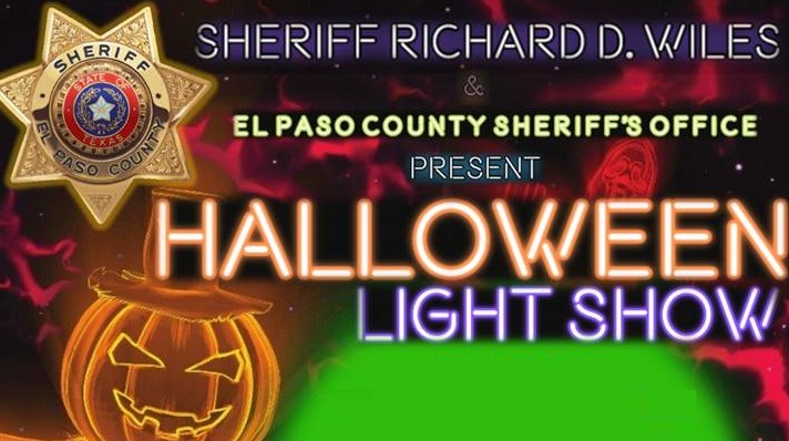El Paso County Sheriff's hosting drive through Trunk or Treat, Halloween light show