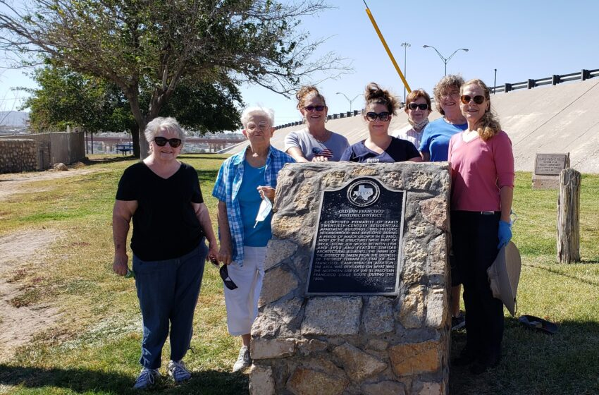 El Paso's Daughters of the American Revolution restore marker for National Day of Service
