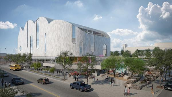 Rendering of the El Paso Children's Museum  | Courtesy El Paso Community Foundation