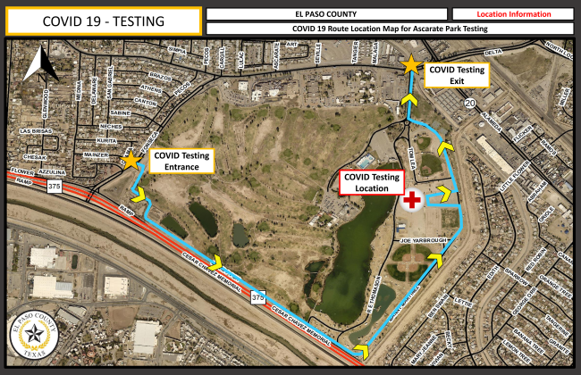 Ascarate Park to be El Paso County's new Covid-19 Mega Testing Site