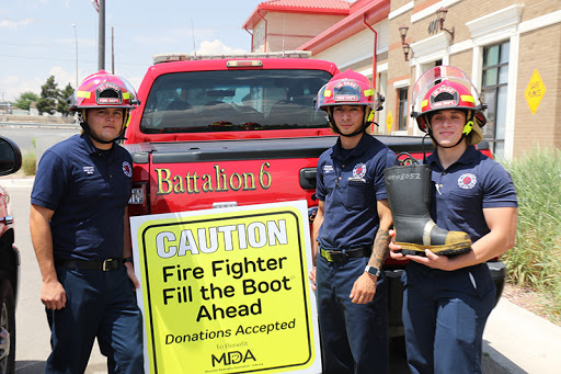 EPFD's 'Fill the Boot' campaign for MDA goes virtual