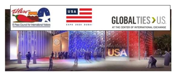 El Paso to be showcased to International Audience via Expo 2020 Dubai