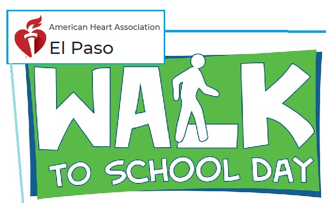 American Heart Association of El Paso promotes virtual National Walk to School Day
