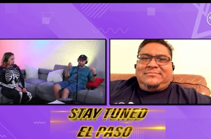 VLog: Stay Tuned El Paso with Vic & Priss: S.2/Ep.106 feat. F.Chris Medina