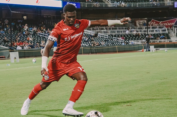 In the two years he spent with Locomotive, Fordah played three games – all of which were starts – including its inaugural U.S. Open Cup.  | Photo courtesy EP Locomotive