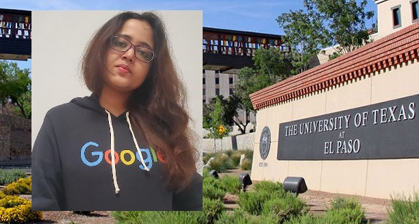 Anindita Nath, a doctoral student at The University of Texas at El Paso, was selected as a recipient of the 2020 Generation Google Scholarship and was awarded $10,000 from the multinational technology company. | Photo courtesy UTEP