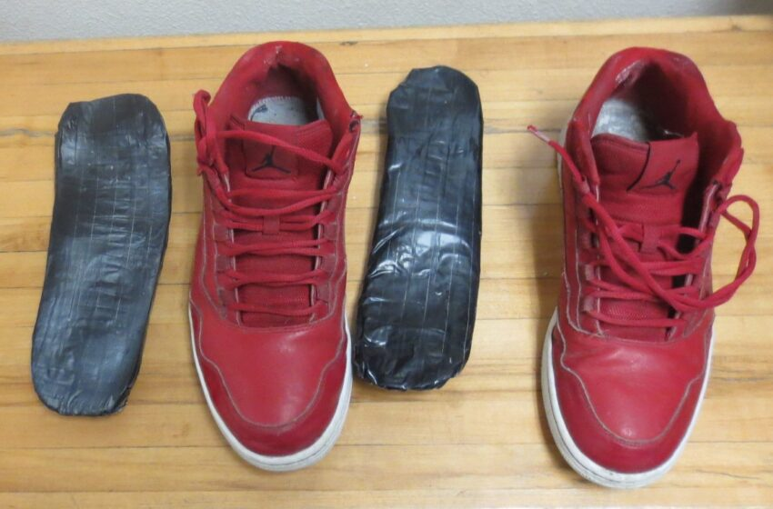 CBP Officers stop teen with meth-filled shoes
