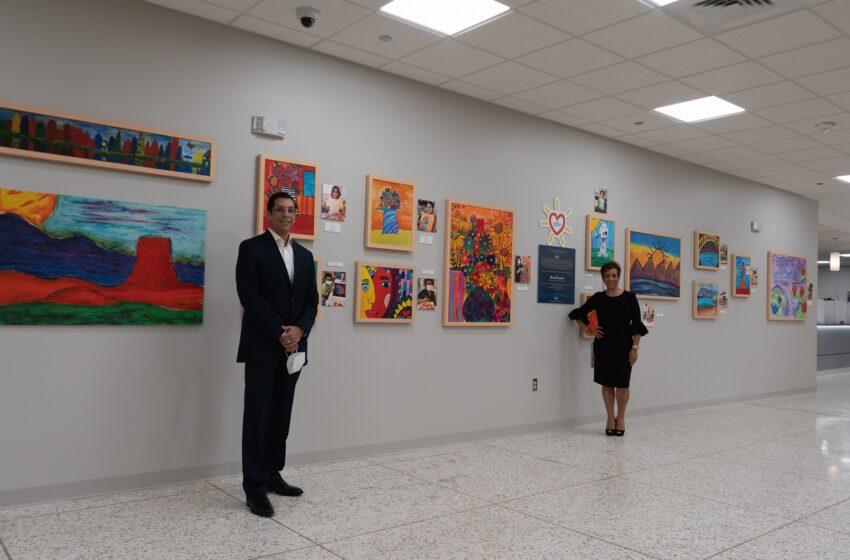 Sunflower Bank unveils new Downtown Branch, Public Art Exhibit; Donates $25k to EPCH Foundation