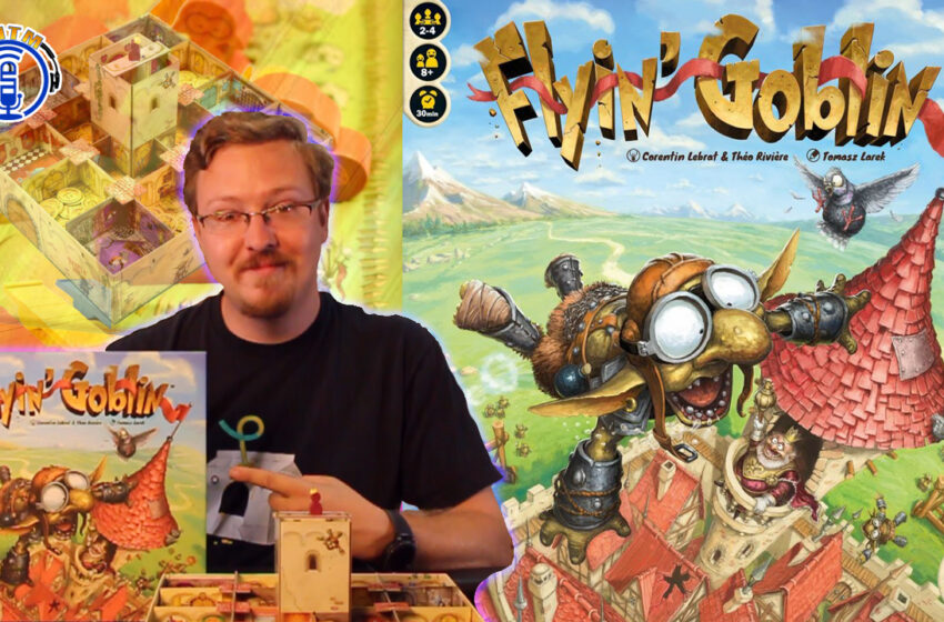 VLog: TMTM – How to play Flyin' Goblin by IELLO