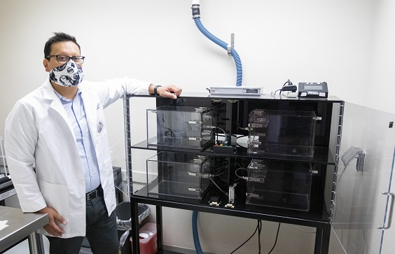 UTEP Researcher studies effects of Teen Vaping on brain, behavior