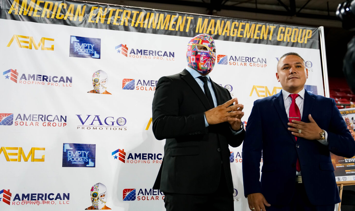 Lucha Pooloza Press Conference