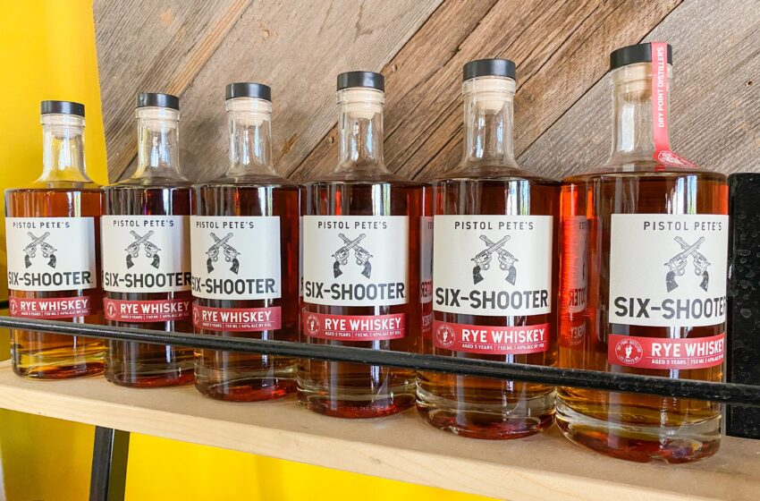 Pistol Pete's Six-Shooter Whiskey is nation's first collegiate-licensed spirit