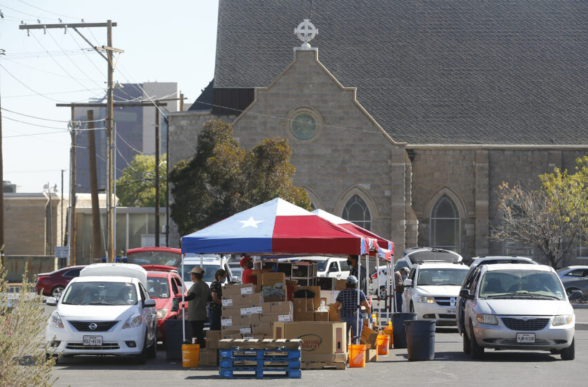 Gallery+Story: Kelly Memorial Food Pantry continues to assist El Pasoans during Covid surge