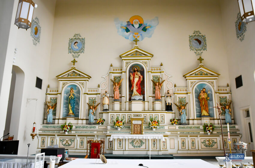 Gallery+Story: Segundo Barrio's Sacred Heart Church and surrounds to be restored