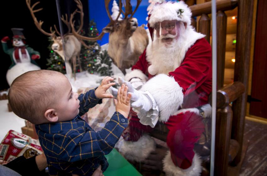 With precautions, Santa's Wonderland continues in person at El Paso Cabela's