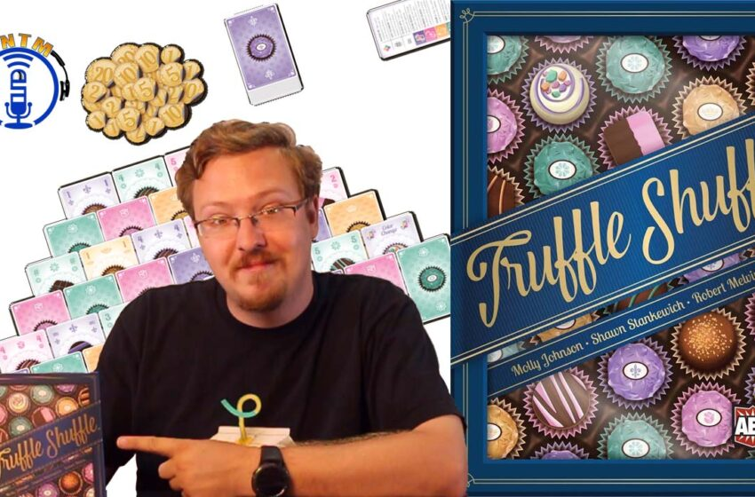 VLog: TNTM's How to play Truffle Shuffle by Alderac Entertainment Group (AEG)