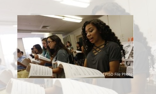 49 EPISD singers named to All-Region Choir, 23 advance to pre-area competition