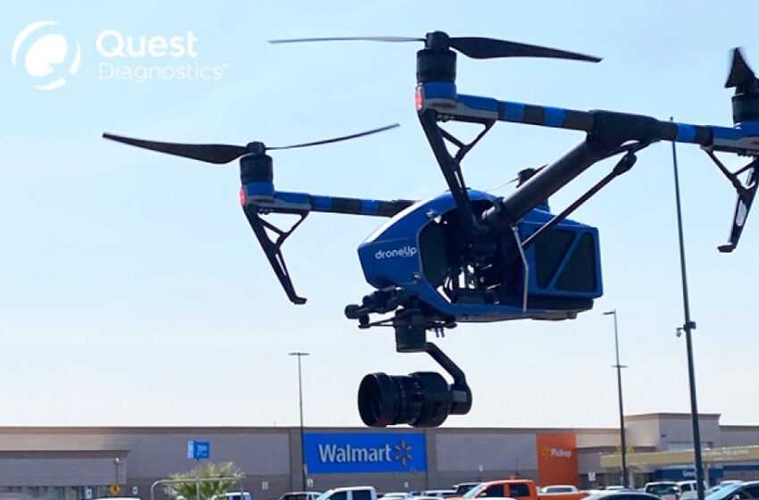 Walmart partners with firms for drone-delivered Covid-19 collection kits in Far-East El Paso