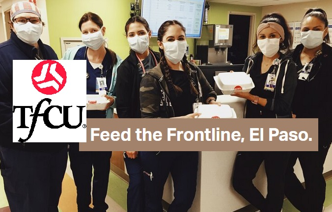TFCU continues support of Feed the Frontline El Paso, Donates additional $5k