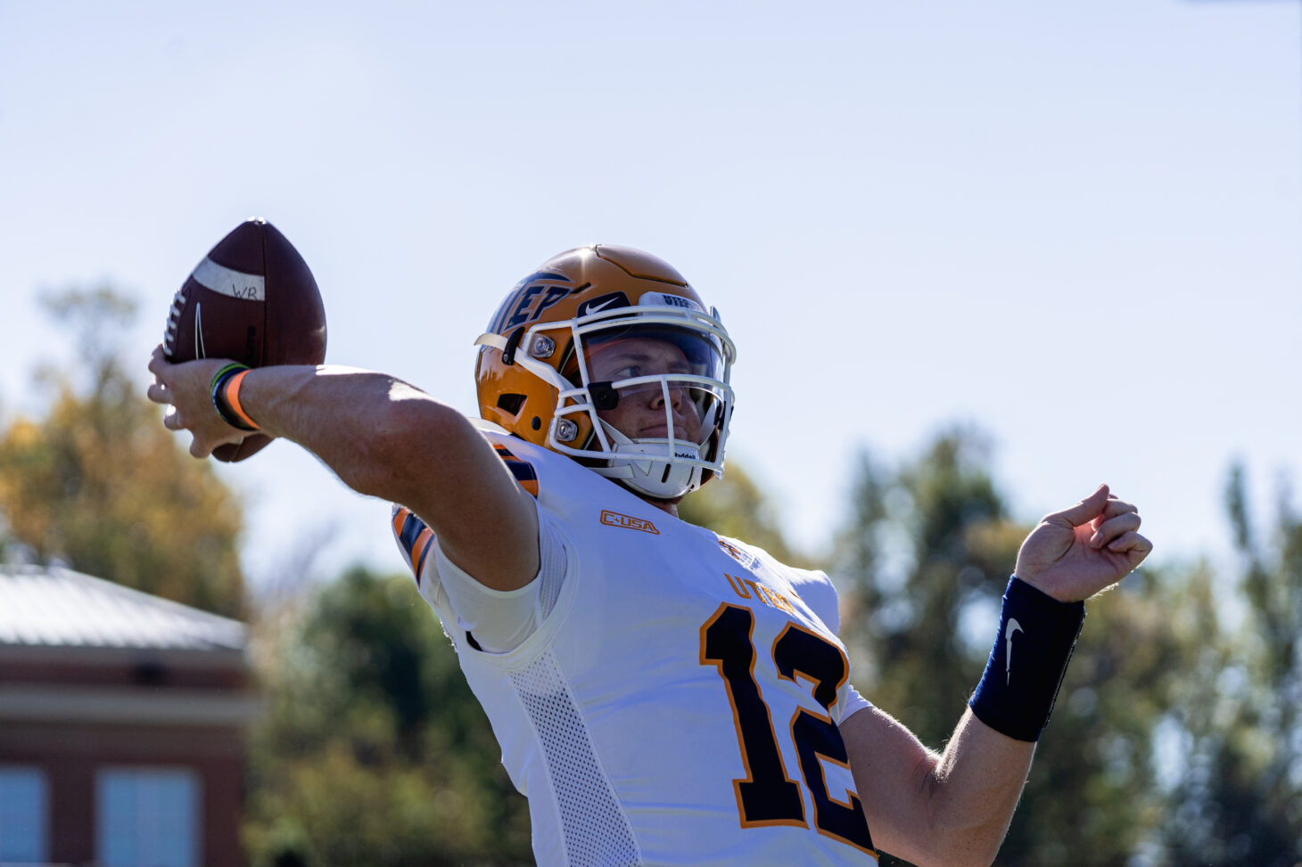 UTEP QB Gavin Hardison | Photo by Connor Putman