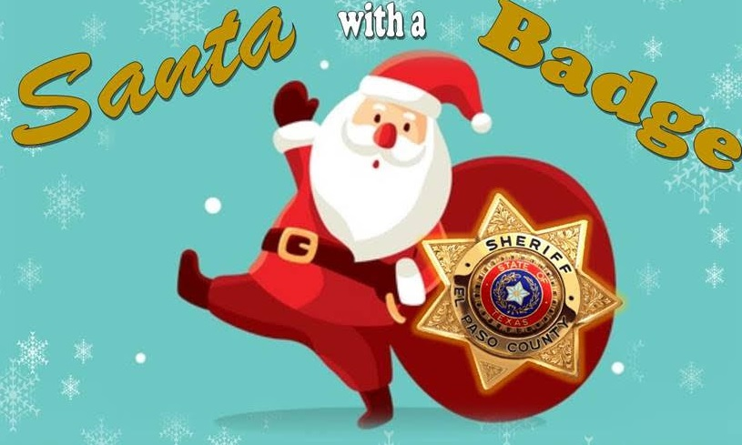 El Paso County Sheriff's Office 'Santa with a Badge' gets underway