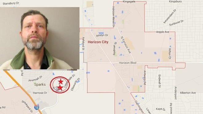EPCSO searching for sex offender who failed to return to Horizon-area halfway home