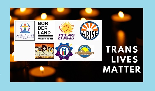 LGBTQ organizations, residents to observe Transgender Day of Remembrance 2020