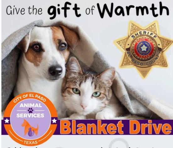 El Paso County Sheriff's Office to hold benefit blanket drive for Animal Services