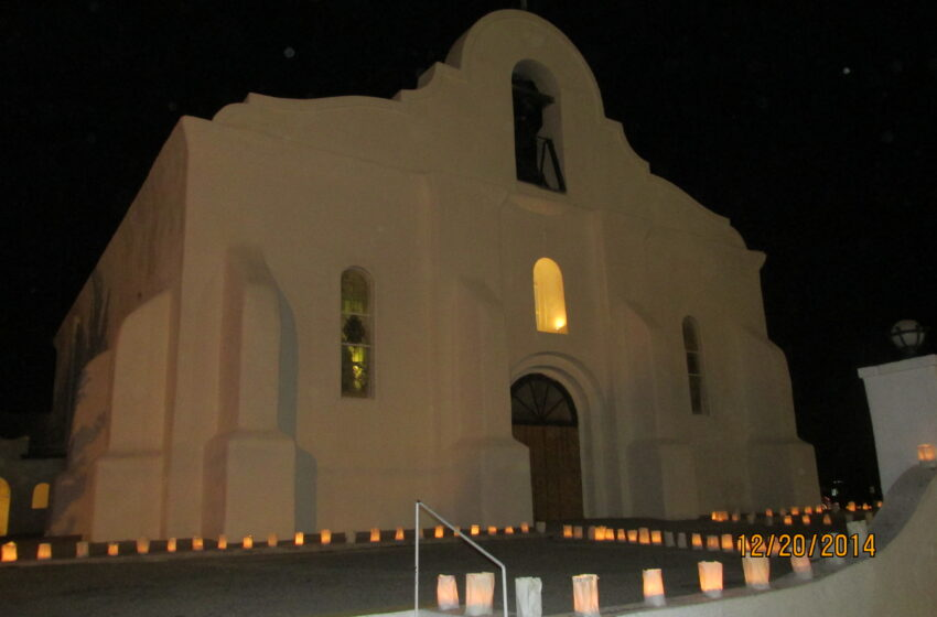 San Elizario Genealogy and Historical Society hosting 2020 Drive-By Luminarias