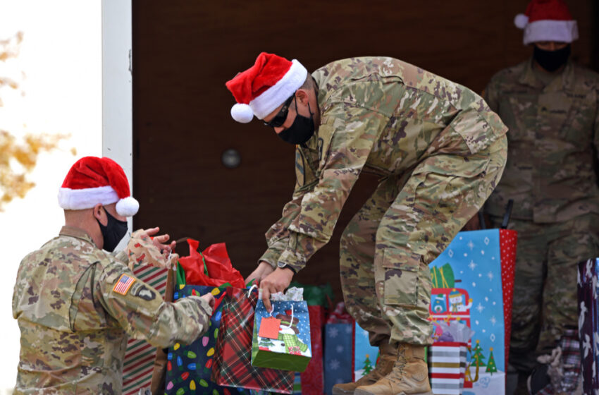 Ft. Bliss Soldiers organize toy drive for local children's home, establish Santa Claus call center