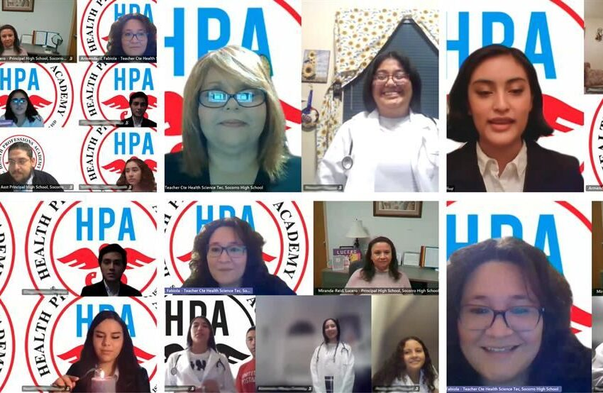 SISD Health Professions Academy celebrates 2020 virtual White Coat Induction Ceremony