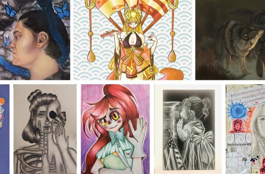 SISD art students selected for statewide gallery in TASA/TASB art competition