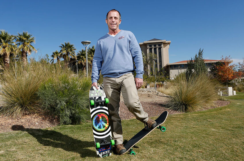 UTEP's 'Dr. Skateboard' selected by Smithsonian for New Research