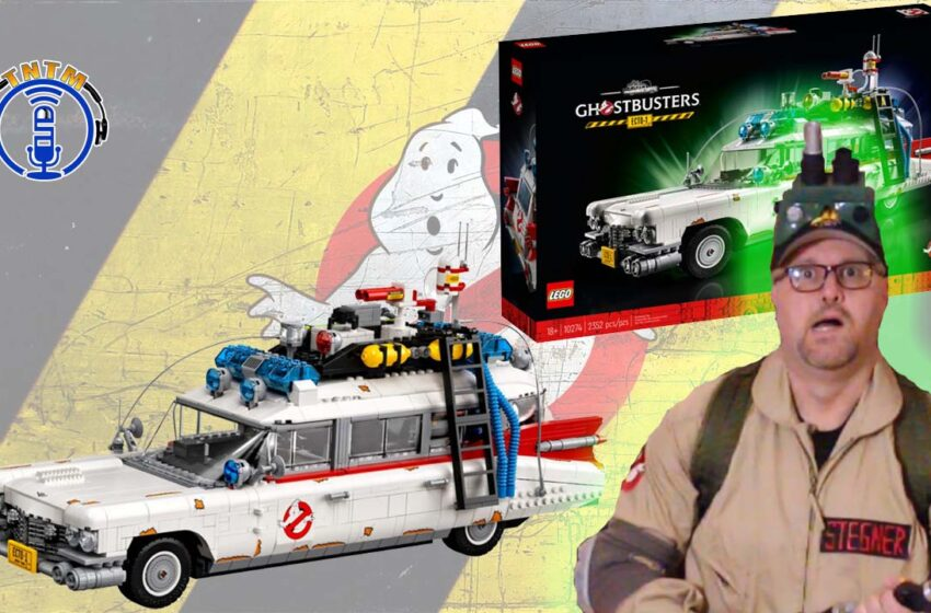 VLog: TNTM's Lego 10274 Ghostbusters Ecto-1 Unbox and Speed Build