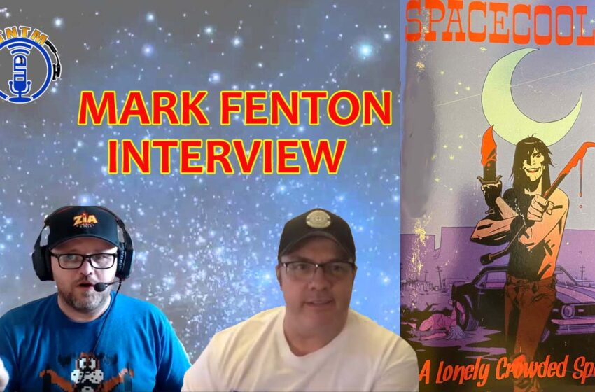 VLog: TNTM's Interview with New Mexico local comic book writer Mark Fenton